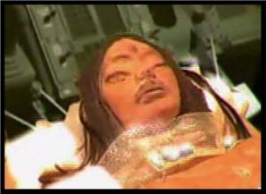 """L'entità aliena che """"sarebbe"""" stata trovata nell'astronave sulla luna"""