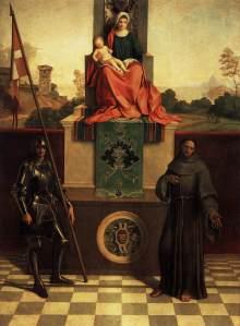 Giorgione pala di castelfranco